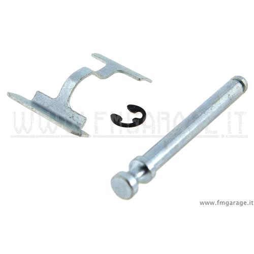 per paraurti fango Sensrise bagagliaio kit di fissaggio a sgancio rapido in lega di alluminio per vano motore viola